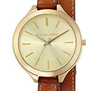 Michael Kors Stainless Steel Wrap Watch
